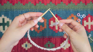 There's no end with a stopper. Knitting In The Round With Circular Needles For Beginners Sheep And Stitch