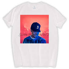 chance the rapper t shirt coloring book tour 3 angels new