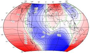 Magnetic Declination Chart An Overview Of The Earths Magnetic Field