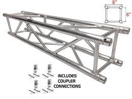 Lighting Truss Dimensions Amazon Com 3 28ft 1 Meter Straight Square Aluminum Truss