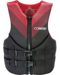Connelly Life Jacket Size Chart Connelly Promo Tall Neoprene Life Vest 2020 Red