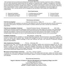 Oil Field Resume Templates Oil Field Resume Templates Fred Resumes 17