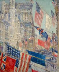 oval office paintings. Allies Day, May 1917, 1917 Oval Office Paintings G