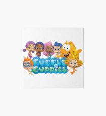 >bubble guppies wall art redbubble bubble guppies art board