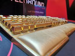 Got a Spare $10,000? Here's Your Keyboard: ADATA's <b>24K Gold</b> ...