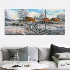 <b>Laeacco 3 Panel</b> Abstract Posters Prints Nordic Wall Art Canvas ...