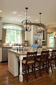 Kitchen Pendant Lights Kitchen Rustic Four Light Cube Shade With Metal Holder Kitchen
