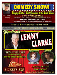 Presents Lenny Comedy Murphy Bf Maguire Erin host Mc Ej Clarke 5qf7xaH