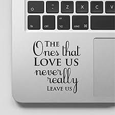 Love Quotes Harry Potter Fascinating Amazon Harry Potter Quote Macbook Decal The Ones That Love Us