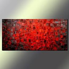 seekland art modern oil painting hand painted texture red abstract canvas wall art decoration contemporary artwork on modern canvas wall art abstract with amazon seekland art modern oil painting hand painted texture