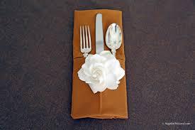 Napkin Folding-Top Ten Restaurant Favorites