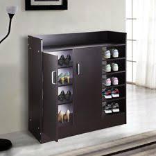 shoe storage furniture for entryway. shoe storage cabinet 6 shelf 18 pair shoes organizer entryway stand blackwalnut furniture for