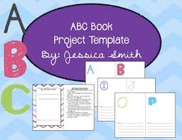 Abc Book Project For Any Topic Any Grade Editable