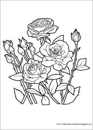 Small Picture Flower Coloring Coloring Pages free For Kids
