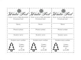 Numbered Tickets Template Free Pages Ticket Printable Raffle