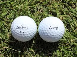 Titleist Compression Chart Titleist Exp 01 Golf Ball Review