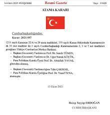"""🎙Muhbir on Twitter: """"#SonDakika 🔥🔥 Merkez Bankası'nda 3 isim görevden  alındı.… """""""
