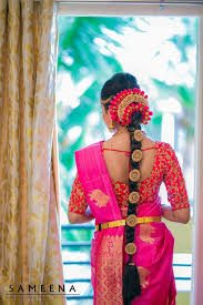 Indian Wedding Malai New Design Pin By Almeena On Poola Jadai Poo Malai Crown Corsage N