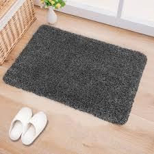 Indoor Doormat Super Absorbs Mud Latex Backing Non Slip Door Mat for ...