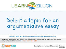 identify the purpose of an argumentative essay