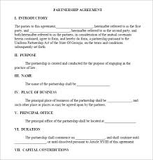 Sample Business Agreement - April.onthemarch.co
