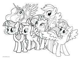 My Coloring Pages Little Pony Pony Coloring Pages Printable Coloring