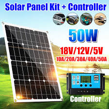 <b>10W</b> 20W 30W 50W portable <b>Solar Panel</b> 5V 12V <b>18V Solar Cells</b> ...