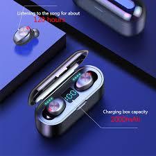 <b>HATOSTEPED Bluetooth Headphones</b> TWS Earbuds Wireless ...