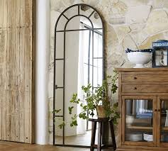 large arched mirror. {via Pottery Barn} Large Arched Mirror D