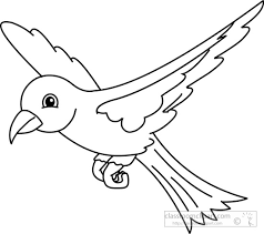 flying bird clipart black and white.  Clipart Throughout Flying Bird Clipart Black And White G