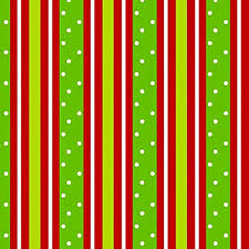 Amazon.com: Red Lime Green STRIPE & POLKA DOT Christmas Gift Wrap Wrapping  Paper - 16ft Roll: Health & Personal Care