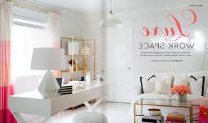 home office design inspiration. Design Inspiration Pink And Gold Home Office Urban Nesting With Regard To The Most Incredible For Provide Residence