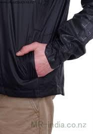 nike nsw av15 jkt hd wvn wngr black jacket black black white ajkprsvw68