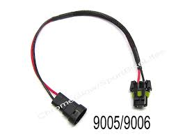 9005 9006 h4 h7 plug hid ballast wiring harness extension cable dont