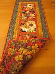 Fall Harvest Quilted Table Runner, to use up all that fall harvest ... & Fall Harvest Quilted Table Runner, to use up all that fall harvest fabric I  have Adamdwight.com