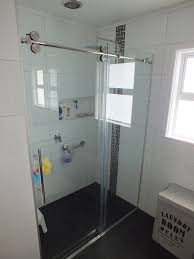 dreamline shower door tiled shower enclosure