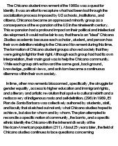 chicano movement at com essay on chicano movement