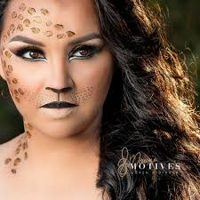 get the look with motives cheetah makeup