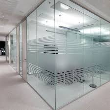 office glass partition system