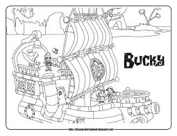 Small Picture Jake and the Neverland Pirates 2 Free Disney Coloring Sheets