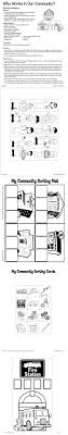 best ideas about science safety lessons fire occupations this is the neat print out that you can cut up and tape to your blocks to make a community using your blocks buildings and workers