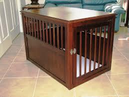 luxury dog crates furniture. Large Dog Crate Furniture Luxury Crates