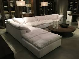 most comfortable sectional sofa. Interesting Comfy Sectional Sofa Restoration Hardware Cloud Couch Future Home Most Comfortable