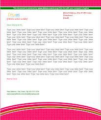 Company Letterhead (Pattern Design) - Dotxes