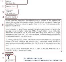 Business Letter Format Proper Letter Format Spacing Resume