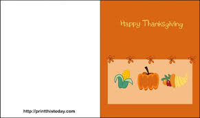 Printable Thanksgiving Cards Happy Thanksgiving Cards Free Printable Free Printable