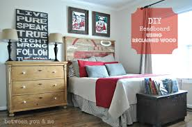 make your own twin headboard  cool ideas for shantychic diy twin