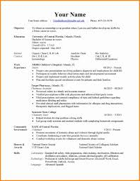 Resume Styles Different Resume Styles Resume For Study 49