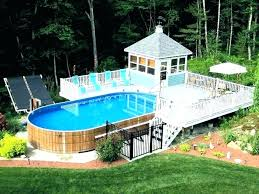 Image Inground Above Ground Pool Ideas For Backyard In Ground Pool Ideas Above Ground Pool Backyard Landscaping Ideas Apluscleaninginfo Above Ground Pool Ideas For Backyard Utechsabinfo