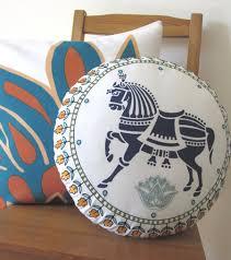 Round Decorative Pillows Chetak Round Decoration Decorative Pillows Allem Studio Design